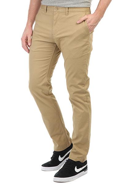 Штаны прямые DC Wrk Str Chino Khaki штаны прямые anteater chino khaki