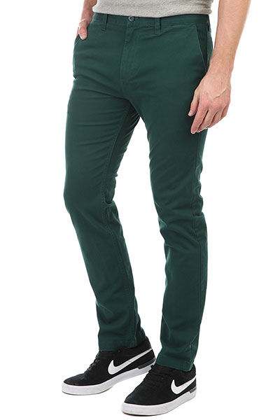 Штаны прямые DC Wrk Str Chino June Bug штаны прямые billabong new order chino khaki