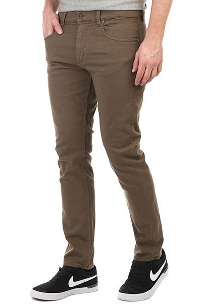Штаны прямые DC Thelayback Teak<br><br>Цвет: коричневый<br>Тип: Штаны прямые<br>Возраст: Взрослый<br>Пол: Мужской