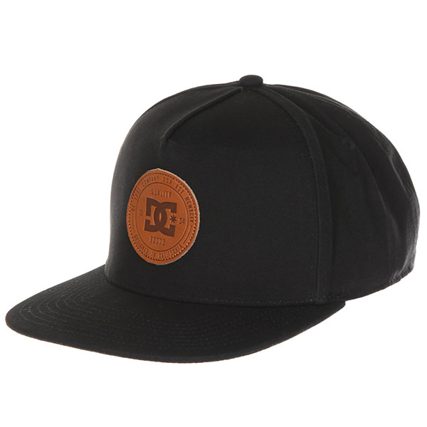 Бейсболка с прямым козырьком DC Proceeder Black<br><br>Цвет: черный<br>Тип: Бейсболка с прямым козырьком<br>Возраст: Взрослый<br>Пол: Мужской