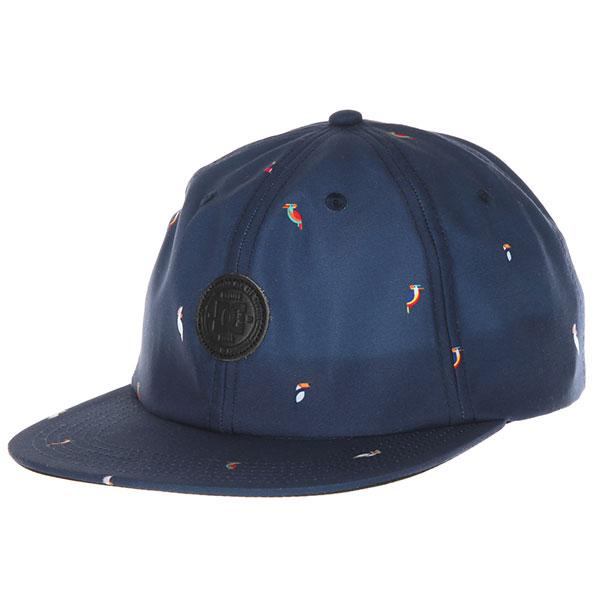 Бейсболка с прямым козырьком DC Everman Dark Indigo<br><br>Цвет: синий<br>Тип: Бейсболка с прямым козырьком<br>Возраст: Взрослый