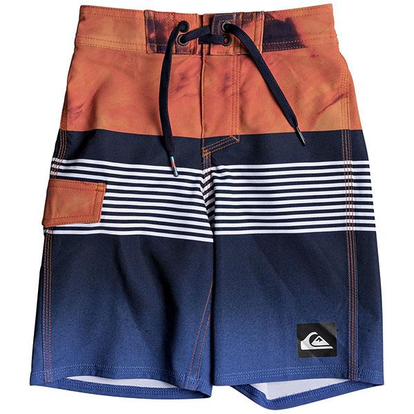 Шорты пляжные детские Quiksilver Highlavaby14 Navy Blazer шорты пляжные детские quiksilver hightechyth16 real teal