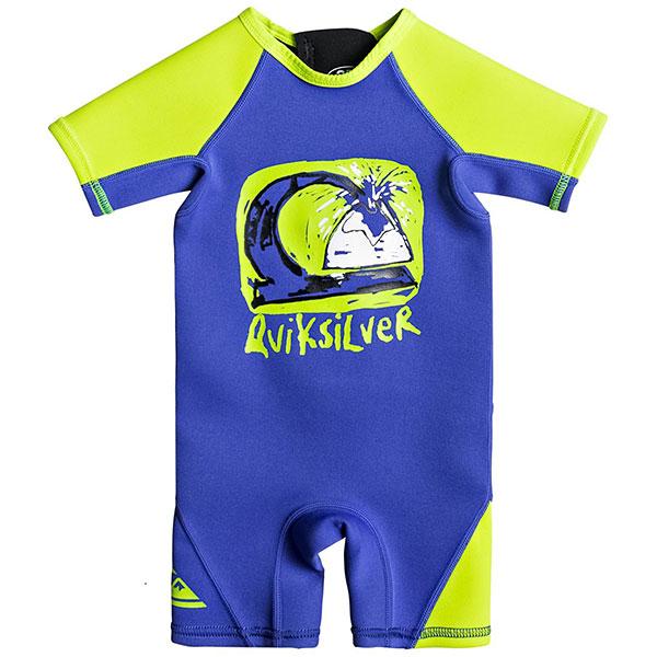 Гидрокостюм (Комбинезон) детский Quiksilver 1.5 Toddler Sp T Hv Royal<br><br>Цвет: синий<br>Тип: Гидрокостюм (Комбинезон)<br>Возраст: Детский