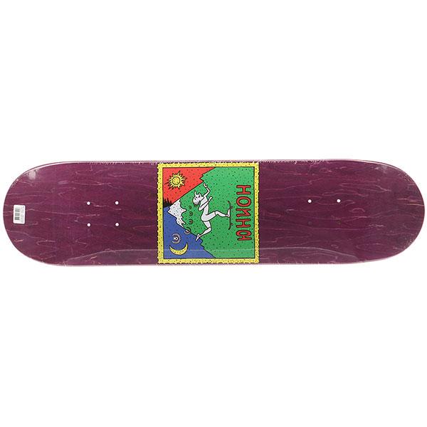 Дека для скейтборда для скейтборда Юнион Hoffman Purple 31.75 x 7.875 (20 см) дека для скейтборда для скейтборда юнион g black silver 32 x 8 20 3 см