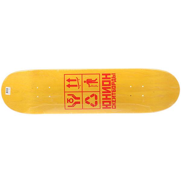 Дека для скейтборда для скейтборда Юнион Recycle Yellow 31.875 x 8 (20.3 см)