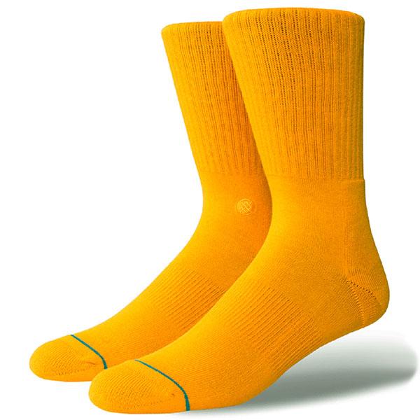 Носки средние Stance Носки Uncommon Solids Icon Gold носки средние детские stance guano orange