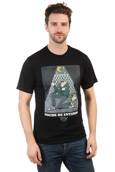 Футболка Anteater Noche de Entierro Black<br><br>Цвет: черный<br>Тип: Футболка<br>Возраст: Взрослый<br>Пол: Мужской