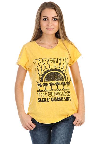 Футболка женская Rip Curl Coral Bay Yellow