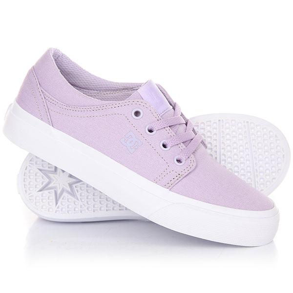 Кеды кроссовки низкие детские DC Trase Tx Lilac кеды dc shoes кеды council tx m shoe