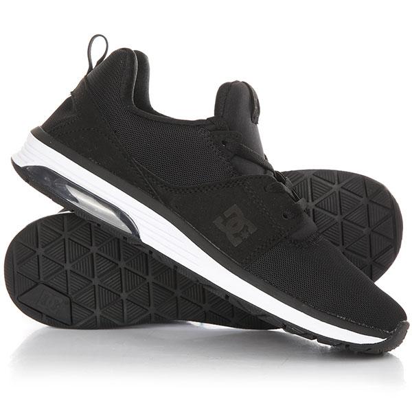 Кроссовки женские DC Heathrow Ia Black/White dc shoes кеды dc heathrow 12