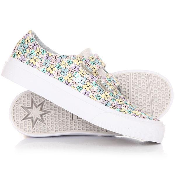 Кеды кроссовки низкие детские DC Trase V Sp Multi dc shoes кеды dc heathrow se 11