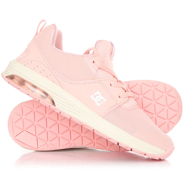 Кроссовки женские DC Heathrow Ia Light Pink кроссовки dc shoes heathrow ia tr black