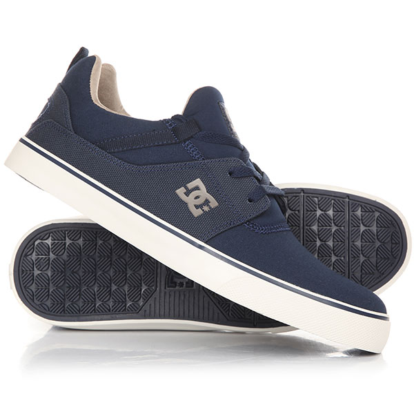 Кеды кроссовки низкие DC Heathrow V Tx Navy dc shoes кеды dc shoes tonik navy fw17 12