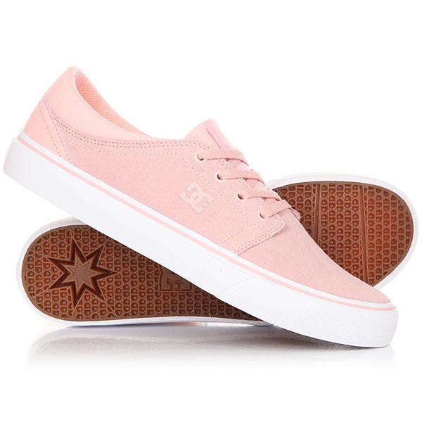Кеды кроссовки низкие DC Trase Sd Light Pink кеды кроссовки низкие dc council sd black military