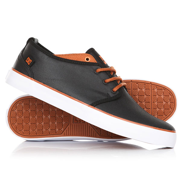 Кеды кроссовки низкие DC Studio 2 Tx Se Black/Camel dc shoes кеды dc council se navy camel 8