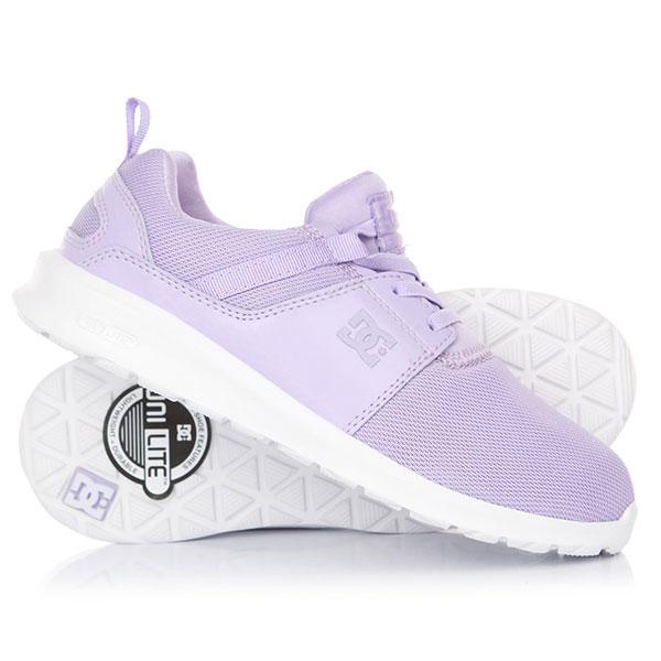 Кроссовки детские DC Heathrow Lilac dc shoes кеды dc heathrow 12