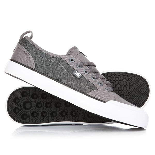 Кеды кроссовки низкие DC Evan Smith Tx Grey/Black dc shoes кеды dc heathrow se 11