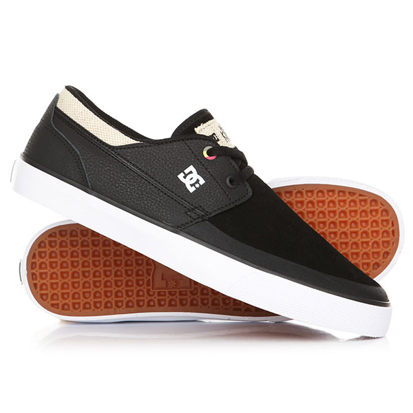 Кеды кроссовки низкие DC Wes Kremer 2 S Black/White dc shoes кеды dc heathrow se 11