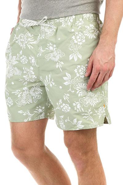 Шорты пляжные Quiksilver Omfloralvoll Reseda шорты пляжные детские quiksilver hightechyth16 real teal