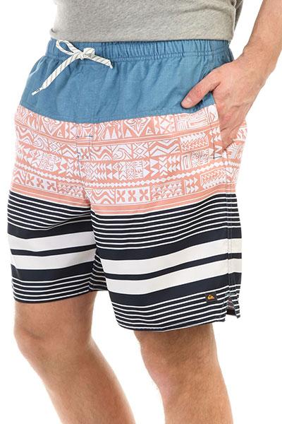 Шорты пляжные Quiksilver Arvavolley Blue Shadow шорты пляжные детские quiksilver hightechyth16 real teal