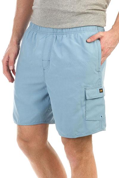 Шорты пляжные Quiksilver Balancevolley Blue ShadowДанная модель имеет внутреннюю подкладку в виде сеточки<br><br>Цвет: синий<br>Тип: Шорты пляжные<br>Возраст: Взрослый<br>Пол: Мужской