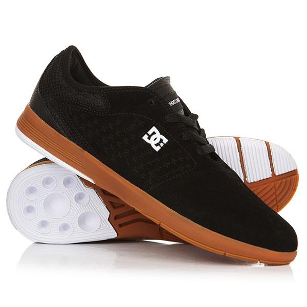 Кеды кроссовки низкие DC New Jack S Black/Gum кеды кроссовки низкие dc council sd black military