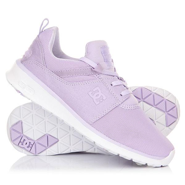 Кроссовки женские DC Heathrow Real Lilac dc shoes кеды dc heathrow 12