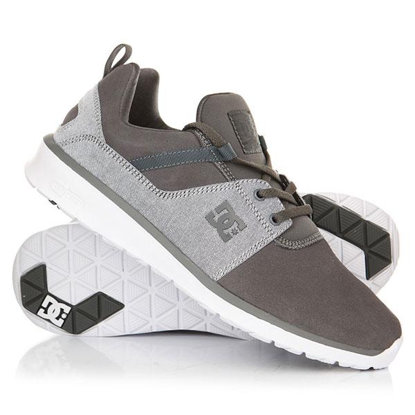 Кроссовки DC Heathrow Se Grey/Grey/White dc shoes кеды dc heathrow 12