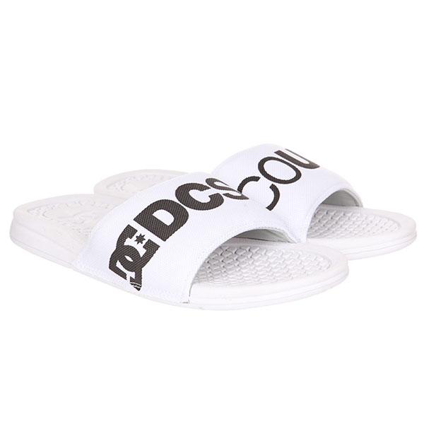 Шлепанцы DC Bolsa Sp White/Black