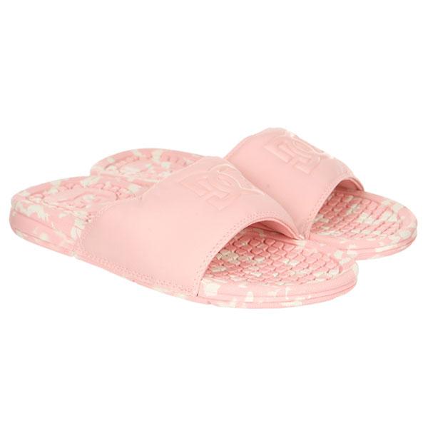 Шлепанцы женские DC Bolsa Le Row Rosewater<br><br>Цвет: розовый<br>Тип: Шлепанцы<br>Возраст: Взрослый<br>Пол: Женский