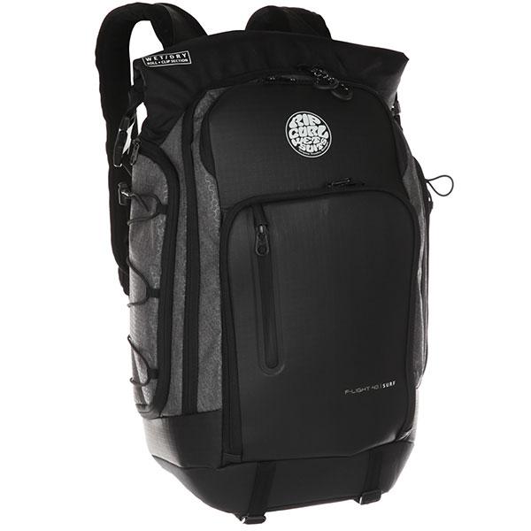 Рюкзак туристический Rip Curl F-light 2.0 Surf Pack MidnightРюкзак разработан и протестирован настоящими серферами и готов к любым испытаниям и путешествиям вместе с вами. Складывайте ваш гидрокостюм и влажные вещи в отдельное непромокаемое отделение, пользуйтесь специальными карманами и секциями для ласт, воска, солнечных очков, наушников и даже ноутбука.Технические характеристики: Материал - нейлон ripstop 450D и 600D.Формованная передняя панель из EVA.Функциональное основное отделение, включая карман для ноутбука.Боковые карманы с утяжкой.Передние карманы.Усиленная спинка.Перфорированные плечевые ремни двойной плотности, дышащие и легкие.Нагрудный ремень равномерно распределяет нагрузку.<br><br>Цвет: черный<br>Тип: Рюкзак туристический<br>Возраст: Взрослый<br>Пол: Мужской