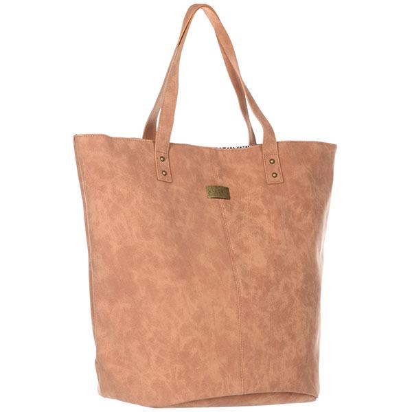 Сумка женская Rip Curl Ballina Tote TanУниверсальная женская сумка-тоут из искусственной кожи в ультрамодном дизайне. Идеальный аксессуар на каждый день.Технические характеристики: Искусственная кожа украшенная заклепками.Основное отделение закрывается на магнитную кнопку.Внутренний карман на молнии.Удобные ручки.<br><br>Цвет: бежевый<br>Тип: Сумка<br>Возраст: Взрослый<br>Пол: Женский