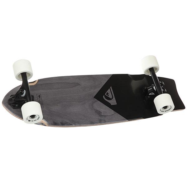 Скейт мини круизер Quiksilver Skate Black Eye Black 9 x 28 (71 см)Будь всегда на колесах, будь вместе с любимым скейтбордом.Характеристики:Материал - канадский клен.Шкурка с логотипом.Японский клей на водной основе.Подшипники ABEC 9. Алюминиевые спейсеры. Алюминиевая подвеска - 6.Колеса: 65х51 мм, 78А.<br><br>Цвет: черный<br>Тип: Скейт мини круизер<br>Возраст: Взрослый<br>Пол: Мужской