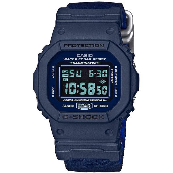 Электронные часы Casio G-Shock dw-5600lu-2e Blue