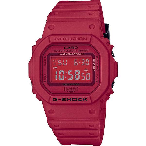 Электронные часы Casio G-Shock dw-5635c-4e Red