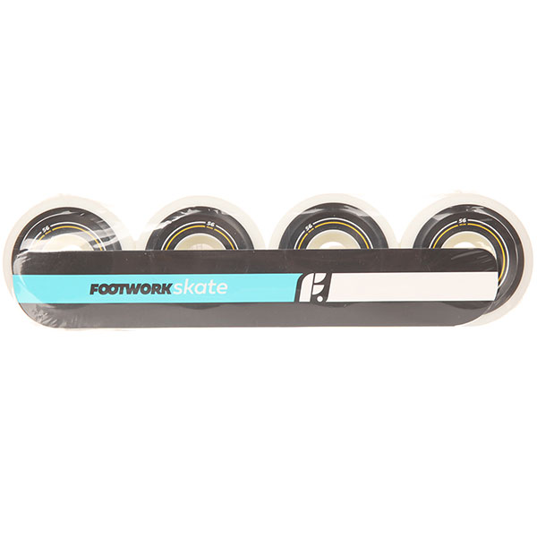 Колеса для скейтборда для скейтборда Footwork Basic Black/White 100A 56 mmДиаметр: 56 mm    Жесткость: 100A    Цена указана за комплект из 4-х колес<br><br>Цвет: белый<br>Тип: Колеса для скейтборда<br>Возраст: Взрослый<br>Пол: Мужской