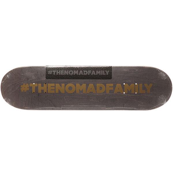 Дека для скейтборда для скейтборда Nomad Hashtag Nmd2 Grey Medium 31.4 x 8.0 (20.3 см)Ширина деки: 8.0 (20.3 см)    Длина деки: 31.4 (79.8 см)    Количество слоев: 7<br><br>Цвет: серый<br>Тип: Дека для скейтборда<br>Возраст: Взрослый<br>Пол: Мужской