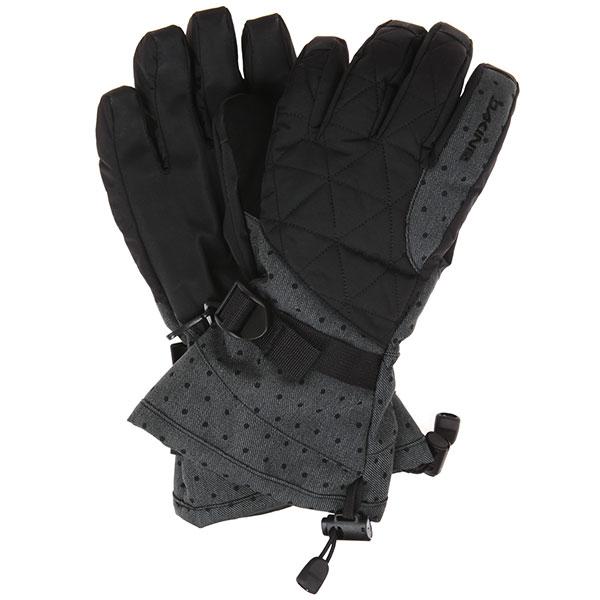 Перчатки женские Dakine Camino Glove Pixie<br><br>Цвет: черный<br>Тип: Перчатки<br>Возраст: Взрослый<br>Пол: Женский