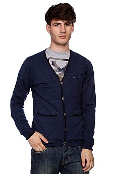 Кардиган Zoo York Workwear Cardigan Ash Blue Heather