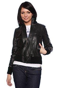 Куртка кожаная женская Dickies Shaded Zip Us Black