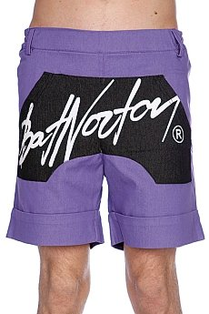 ����� Bat Norton Unisex Basic Shorts Purple