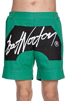 ����� Bat Norton Unisex Basic Shorts Green