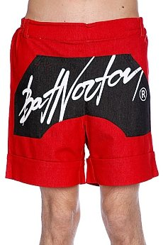 ����� Bat Norton Unisex Basic Shorts Red