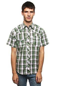 Рубашка в клетку Fallen Santa Fe Snap Up Green