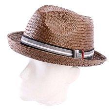 Шляпа Globe Trevino Fedora Brown