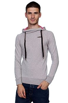 Толстовка Trailhead MHD 032 Light Grey/Pink