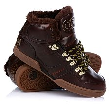 Кеды утепленные Osiris Nyc 83 Shr Brown/Gold/Gum