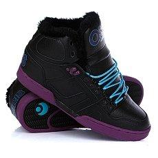 Кеды утепленные Osiris Nyc 83 Shr Black/Purple/Teal