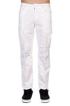 Штаны прямые Urban Classics Combat Oldy Cargo Pants White
