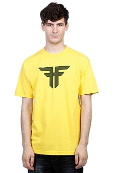 Футболка Fallen Trademark Yellow/Surp Green